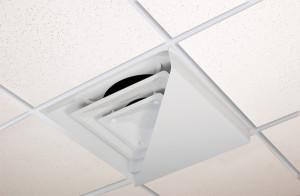 Air Diverter Diagonal White