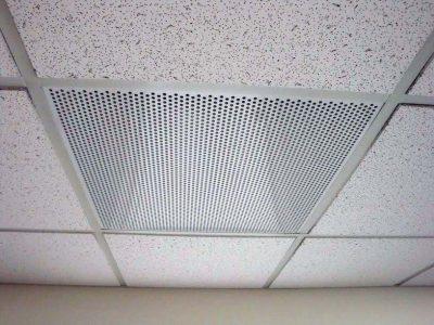 Air Diverter, Corner, Diagonal, 24″ X24″   Ceiling Ease